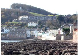 Kingsand from afar